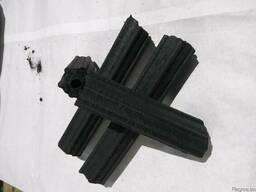 Charcoal briquette hexagonal - photo 2