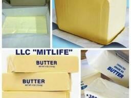 Масло сливочное 82,5% оптом ГОСТ Украина LLC Mitlife