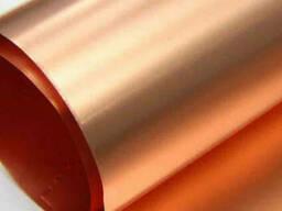 Медная кровельная лента 4.3 мм М1 ГОСТ 1173-2006