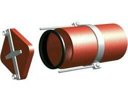 Безраструбная заглушка с прижимными скобами 200 мм ВЧШГ ГОСТ