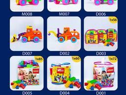 Игрушки для детей, мягкие и пластиковые