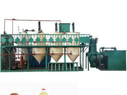 Оборудование для производства, рафинации и экстракции растительного и подсолнечного масла