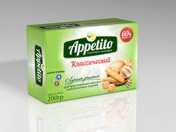 "Маргарин средне калорийный ""Appetito"" с мдж 60% 200гр"