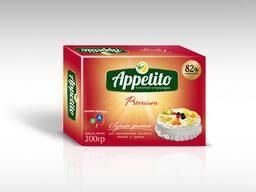 """Маргарин высококалорийный """"Appetito"""" Премиум с мдж 82% 200гр"""