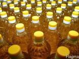 Масло подсолнечное рафинированное дезодорированное Украина э - фото 1