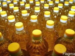 Масло подсолнечное рафинированное дезодорированное Украина э