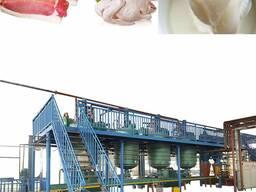 Оборудование для животных жиров, сала в пищевой жир