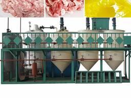 Линия для вытопки животных жиров, сала для технического жира