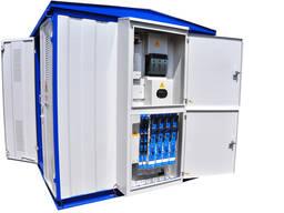 Подстанции трансформаторные комплектные КТП-2-25. . .630/10(6