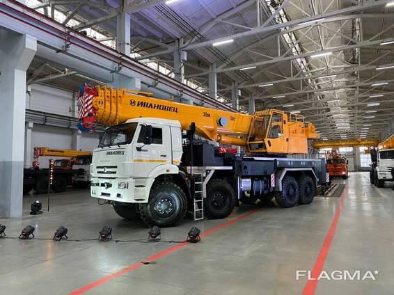 Поставка и продажа новых автокранов моделей Ивановец в Туркменистане