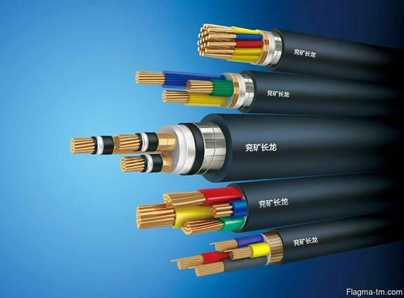 Силовой кабель 1x300 мм АВВГ ГОСТ 16442-80