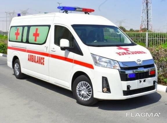 Скорая помощь на базе Toyota Hiace high roof GL 2.8l turbo d
