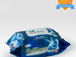 Wet wipes Blue Brilliant 120pc Täç hil